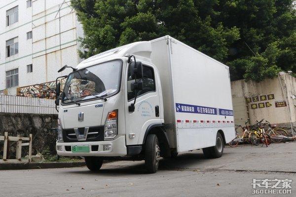 深圳新能源物流车超4万辆1.15万辆车的位置数据可实时采集