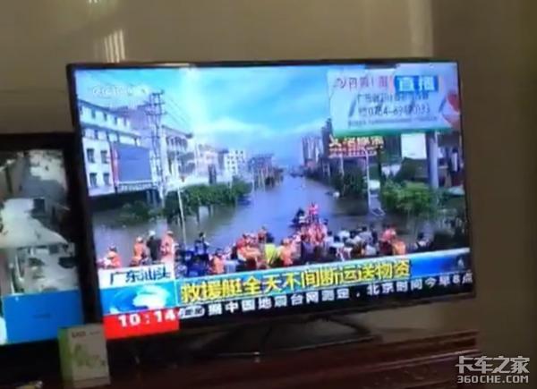 潮汕抗洪救灾:卡车司机在行动!卡车人,好样的!(多图预警)