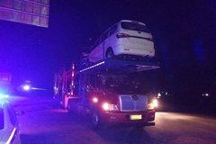 轿运车因超高被罚 如何装载让卡友犯难