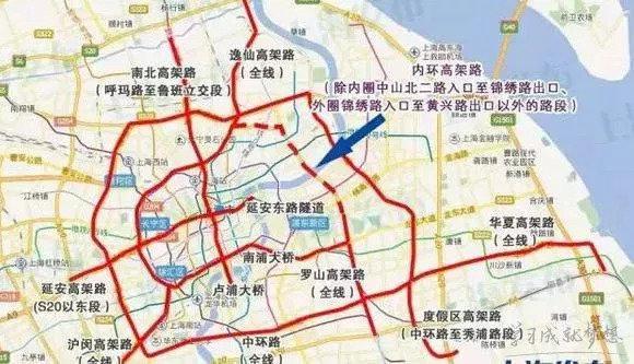 最新上海临牌限行规定临牌限行时间及限行路段