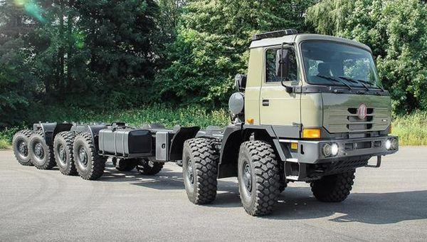 国内卡车市场又迎来一款进口卡车太脱拉卡车即将重返国内!