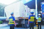 厦门载石车超限85吨 人和公司一起受罚