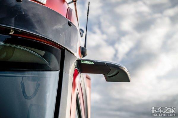 奔驰改款新Actros来了没有后视镜油耗降低5%光是看图就已经想买了