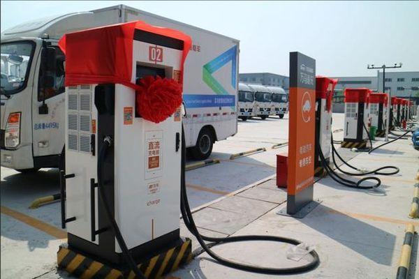 万马、菜鸟、八匹马协作杭州首个物流充电站正式运营