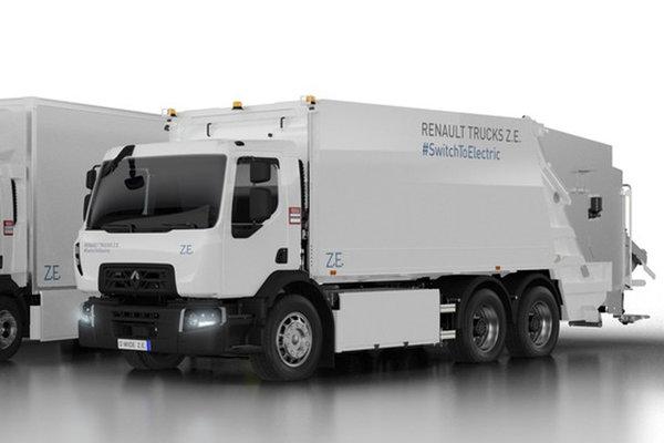 2018汉诺威车展雷诺全新电动卡车曝光,续航里程可达300km