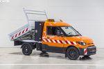 德国邮政配送车 基于全顺打造续航200km