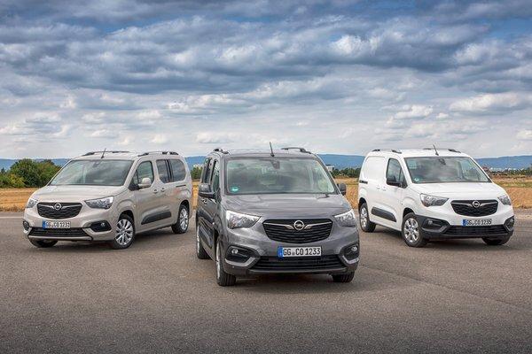 欧宝新款Van豪华车的配置还有4.4方货箱