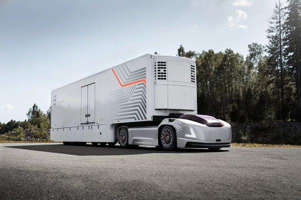 沃尔沃研发新型电动卡车:会玩!这次连驾驶室都没有了!