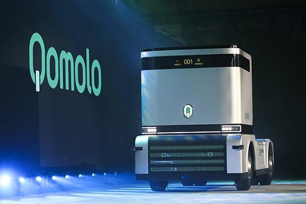 重磅!全球首款无人驾驶电动集卡发布
