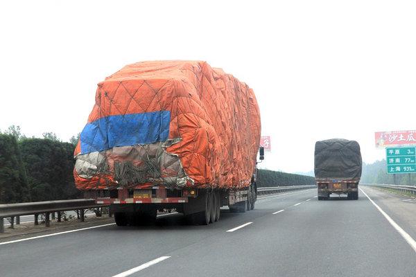 货车限重31吨实际装载88.28吨巢湖开出今年最高罚单!