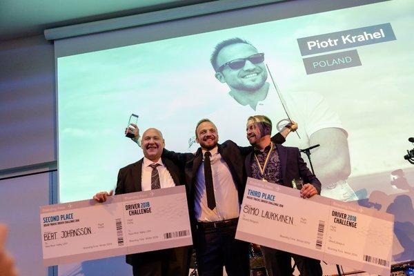 2018沃尔沃卡车驾驶员挑战赛全球总决赛冠军揭晓