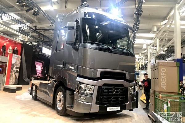 2018年汉诺威车展:雷诺除了3辆T系列重卡新能源也成重点