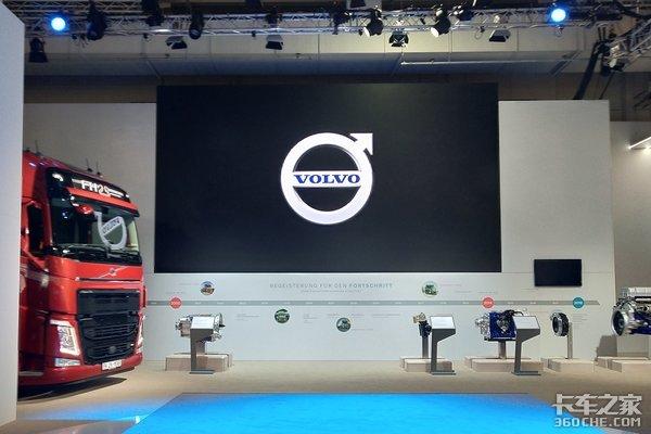 2018汉诺威车展:FH25周年纪念版亮相沃尔沃展台全都是硬货