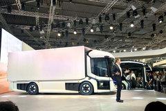 2018年汉诺威车展:曼发布CitE电动卡车
