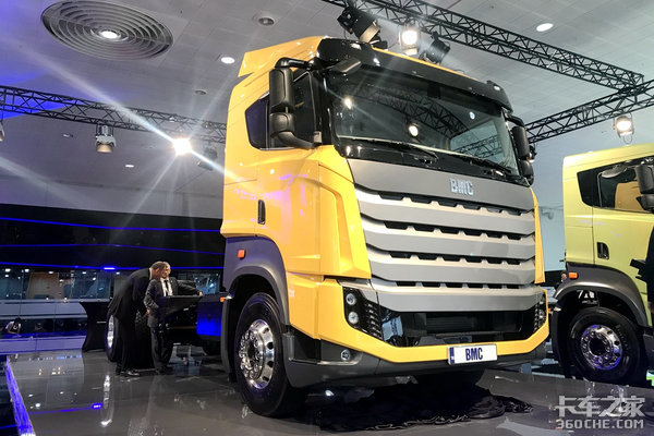 要和奔驰、沃尔沃抢市场,土耳其BMC推出新款卡车,它会火吗?