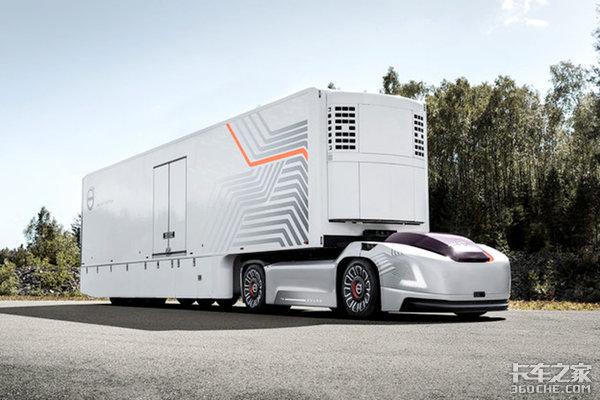 失业的不只司机以后连装卸工都省了这些概念卡车有点过分了!