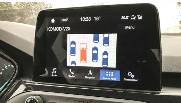 """福特携手沃达丰测试网联汽车技术为紧急车辆创建""""紧急通道"""""""