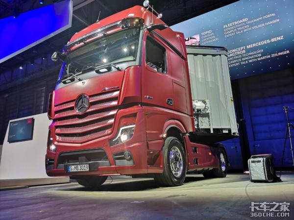 直击汉诺威:电动卡车领域或将成为福田汽车和戴姆勒合作新方向