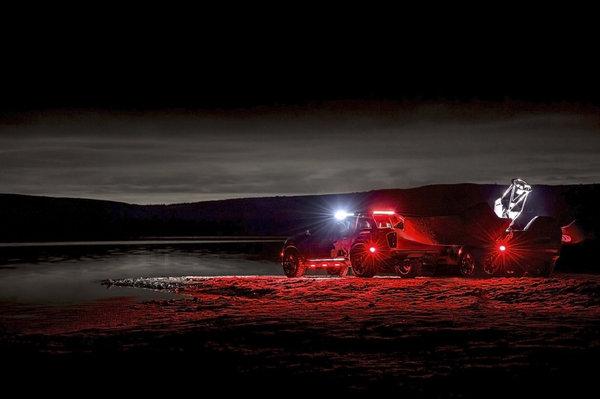 """""""黑暗天空""""以NissanNavara皮卡为原型将帮助天文学家更好观星空"""