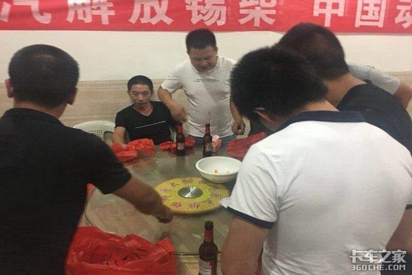 一汽解放锡柴暨合力叉车推介会及中秋博饼活动