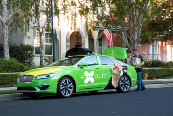 中通与AutoX合作促进无人化驾驶,除了快递未来或将用在外卖服务上!