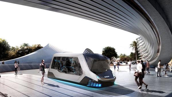 2050年城市物流是什么样子?达夫设计师的描绘令人惊叹