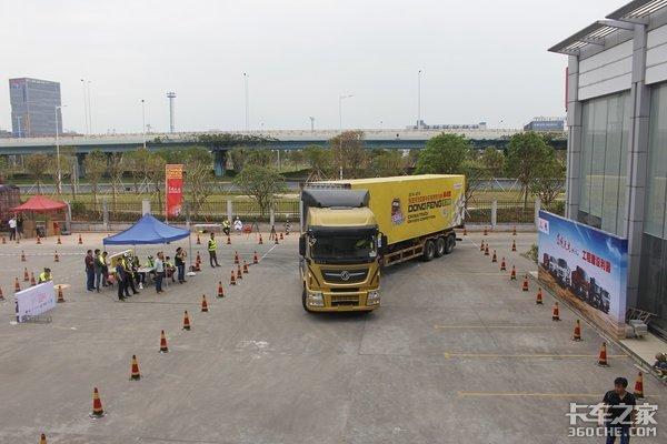 48名选手抢11张决赛入场券深圳的这场东风驾驶员大赛真激烈