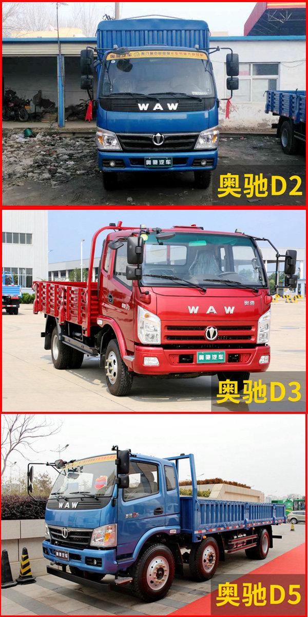 中短距离重载运输高性价比奥驰D系值得选择