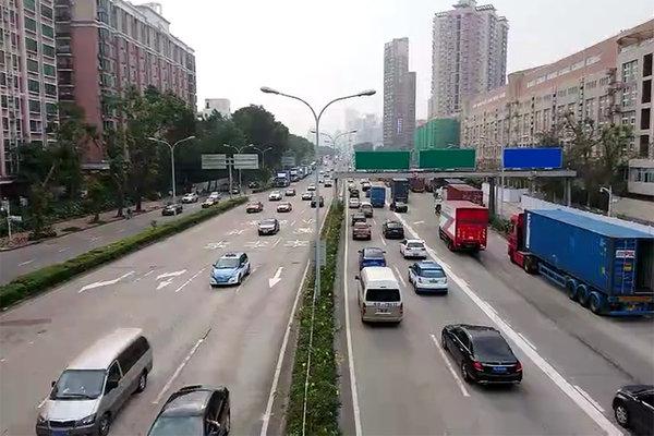 安庆市3条道路禁止大中重型货车通行