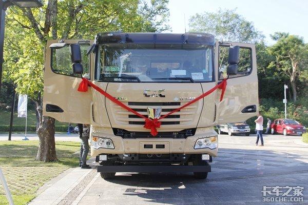 解决环保顾虑联合卡车交40台LNG渣土车