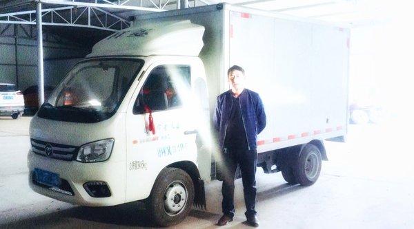 烧油少、装货多、颜值高这些配送公司都被福田祥菱圈粉