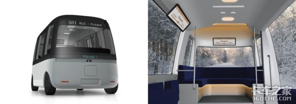 完全不用驾驶员干预操作全球首款L4级自动驾驶巴士亮相