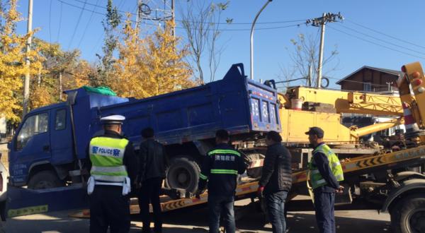 严查大货车!北京海淀成立整治小组10月份处罚货车行为211起