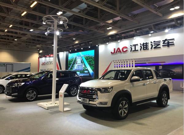 畅想绿色新生活江淮汽车亮相2018年澳门车展