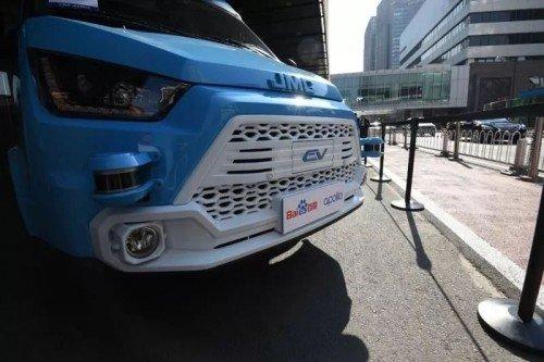 强强联手!百度将和江铃股份合作开发的自动驾驶货车
