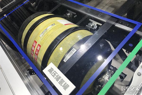 最大152马力丰田氢燃料电池轻卡亮相