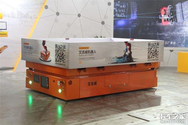顶尖AGV技术盛宴:探馆2018亚洲国际物流技术运输系统展览