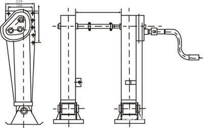 支腿结构图