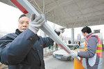 正在办手续 312国道南京收费站铁定撤除