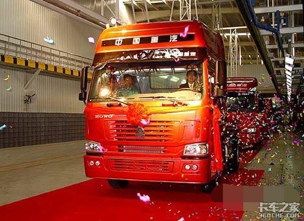 从1到100万台整整用了14年,扒一扒重汽豪沃牵引车的前世今生