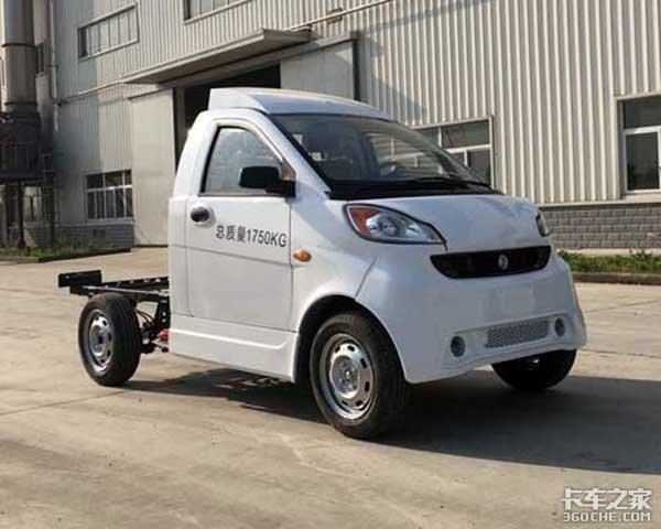 比奇瑞QQ长6.5厘米,马力27匹东风打造史上最小的载货车