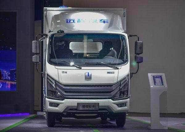 2018广州车展: 吉利远程带来增程式轻卡