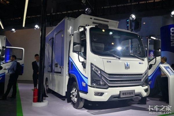 2018广州车展:吉利远程带来增程式轻卡
