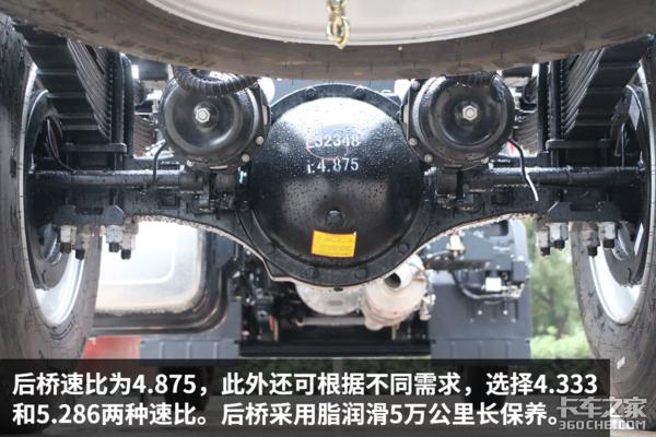 提前升级国六格尔发K6搭220马力康机