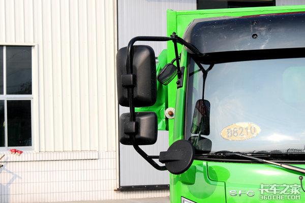 U型货箱+篷布环保盖搭载云内发动机时风风驰自卸车图解
