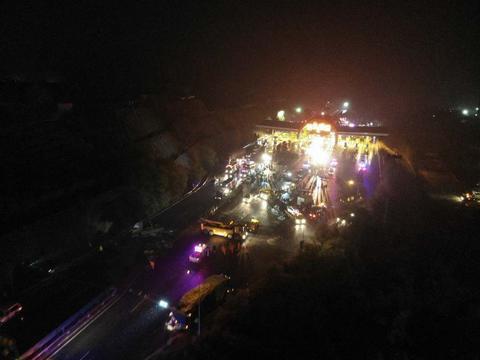 兰海高速车祸路段:已经是极限设计,曾发生事故200余起近百人伤亡