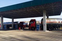 LNG加气站不给大货车加气 这是闹哪样?