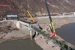 川藏节点G318金沙江大桥将在12月初通车