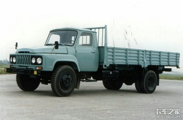还记得那些年全国各地的东风卡车吗?