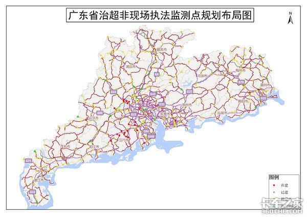 12月底,东莞凤岗一路段启用治超非现场执法
